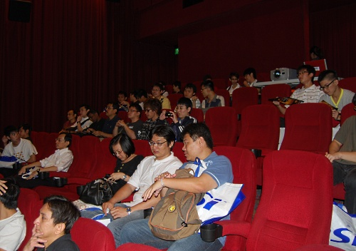 Like the previous P45 launch, MSI's local P55 launch was again held in a cinema, at VivoCity's Golden Village. Attendees were treated to dinner and a movie screening after the presentation. And a chance at winning a P55 motherboard!