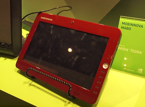 Another tablet, this one's from Mobinnova.