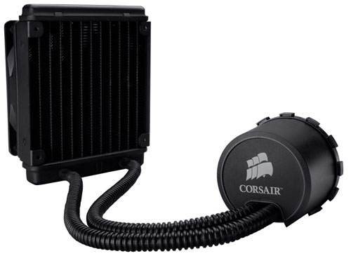 Consisting of just two separate components out of the box, the fan and the radiator, the Corsair H50 liquid cooling kit is as easy as it gets when it comes to DIY liquid cooling.