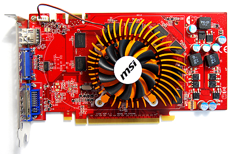 We've seen MSI used coolers of similar designs in the past, and while it is rather quiet, we must warn users to be wary of the cooling fins' sharp edges.