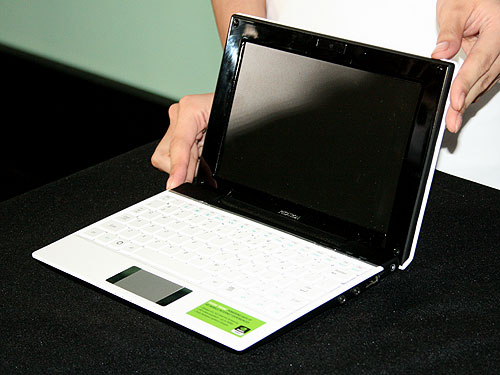 The Pegatron Vivid mini-notebook.