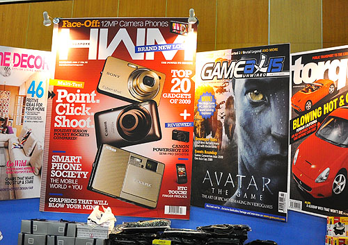 Love the new HWM Singapore? Well, what are you waiting for? Come down to Sitex 2009, Booth 5H10 to subscribe!