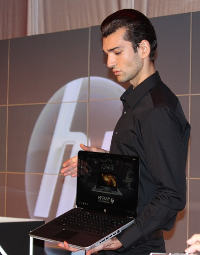 Undoubtedly the star and main attraction of the event, the sleek, luxurious HP ENVY.