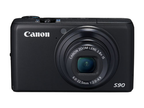 The Canon PowerShot S90 - coming to you soon!