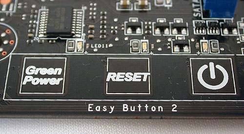 Another familiar feature for those who have seen the P55-GD80 is Easy Button 2, which are capacitive onboard buttons.