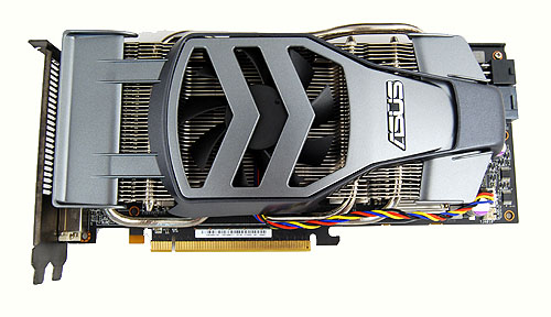 The ASUS EAH4890 Formula is one the the oddest looking card we've seen and thanks largely due to the unorthodox Formula 1-inspired cooler.