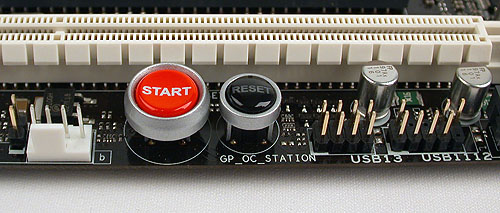 Onboard power and reset buttons are but some of the features found on boards of this class. The Maximus III Formula also has a button for its MemoryOK feature that checks and adjusts your memory settings such that the system will boot up with no issues.