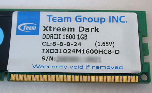 More of the same specifications as most other DDR3 1600MHz triple channel kits.