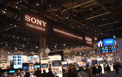 It's early the next morning and we were back at Sony's booth to get an exclusive tour of the highlights.