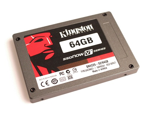 Fresh from the factory ovens of Kingston, here's the SSDNow V+ series from Kingston.