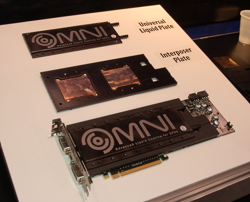 The Omni A.L.C has a universal plate solution that makes it reusable for different GPU models, something that's not possible for current products by adding a layer in-between that can be adjusted to fit the location of the GPU cores in different models.