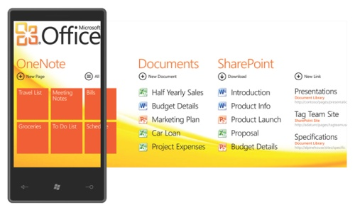 Office hub - enhanced productivity suite on your Windows Phone.
