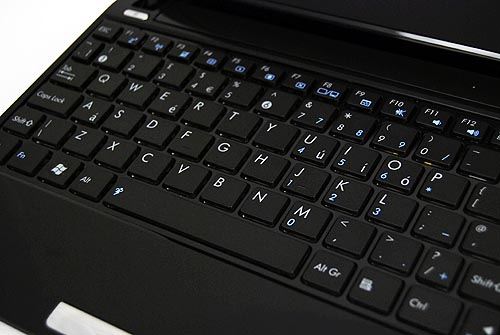 The chiclet keyboard is easy to type on, and much improved from the older designs.