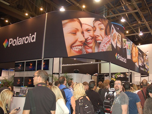 Polaroid has had to reinvent itself with the advent of digital cameras. Its iconic analog cameras stopped production last year and the company now appears to be in the digital camera business, along with related imaging and display products.
