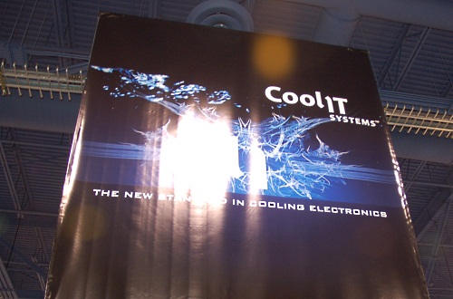 CoolIT Systems, a firm specializing in liquid cooling technology swept four Innovation awards at CES 2010 for its cooling products. We just had to check out its booth.