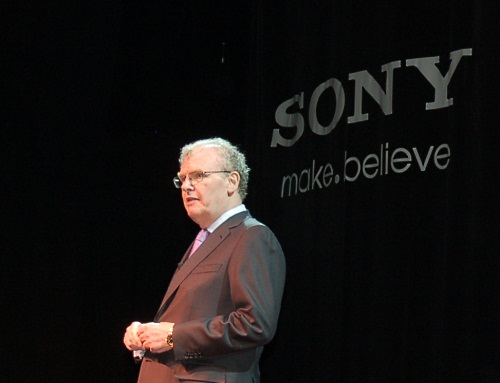Chairman, CEO and President - Sir Howard Stringer certainly wears many hats at Sony and he's also here at CES to talk about Sony's grand vision for the future, one involving 3D, an unified platform spanning hardware, software and content services and of course, the many CE product lines that Sony is famous for.