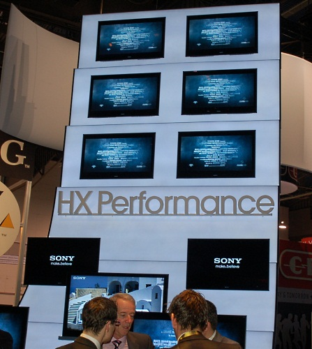 Performance here for the HX represents the fact that Sony intends this series to have the best picture quality among the new BRAVIAs. Besides the full listing of Sony BRAVIA features, it lacks integrated 3D, though it is 3D ready, so users have the choice to equip it with 3D in the future by buying the emitter and glasses. Monolithic design of course.