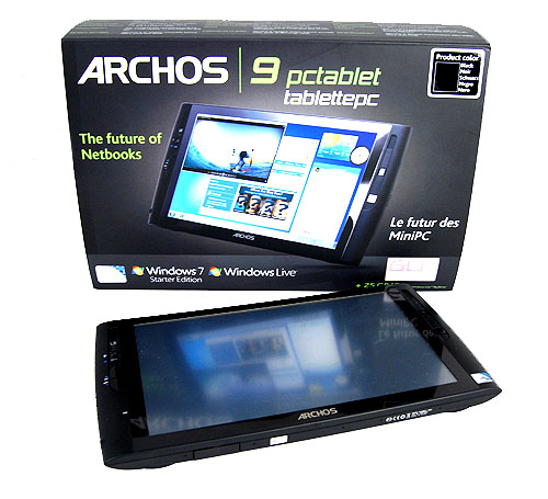 The Archos 9 PCtablet represents the French company's attempt at garnering a share of the lucrative mobile computing market.