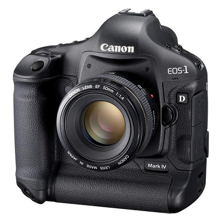Canon's Latest High-end Stallion, the EOS 1D Mark IV.