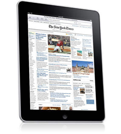 Click on the picture to hop straight to the Apple website of the Apple iPad.