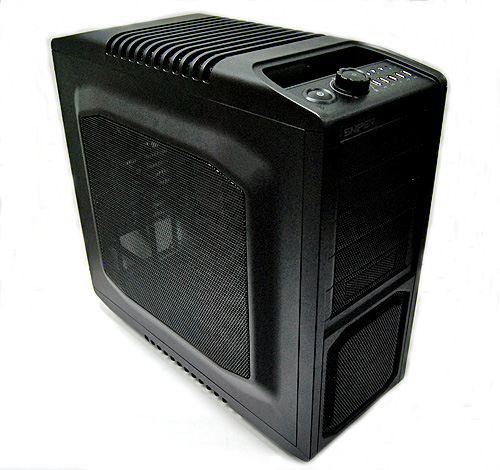 The Cooler Master Storm Sniper doesn't look awfully cool, but it does come across as being very rugged and functional.
