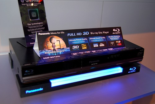 The DMP-BDT350 is Panasonic's first Blu-ray player that's ready for Blu-ray 3D content in addition to the plus points mentioned for the BD65 above.