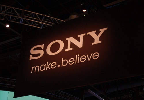 You can't miss Sony's new global brand message, Make (dot) Believe, which is making its North American debut here and will be unified across all of Sony's many divisions.
