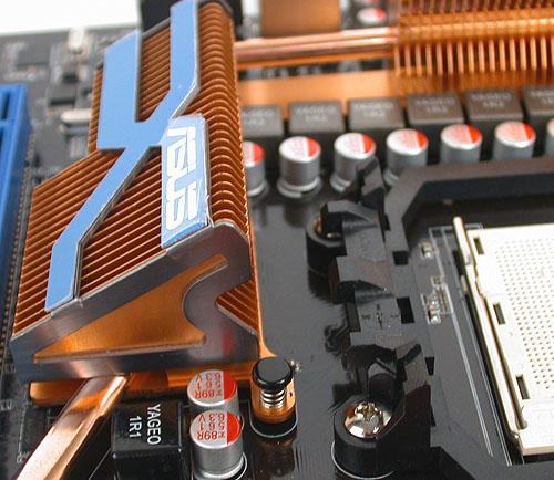 The heatsink here is just a fraction too close to the CPU socket mount. Or rather the combination of its height and the distance meant that we had some trouble uninstalling our ZEROtherm CPU fansink.
