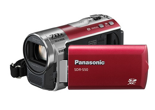 The Panasonic SDR-S50 Camcorder