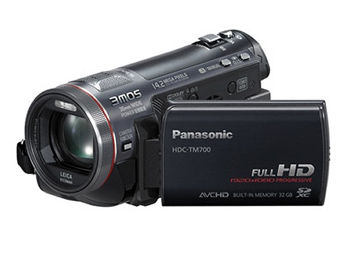 The Panasonic HDC-TM700 Camcorder