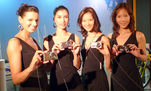 Panasonic models displaying the successor to the immensely popular Panasonic LUMIX DMC-FX38 - the new Panasonic LUMIX DMC-FX48. But there's more where that came from.