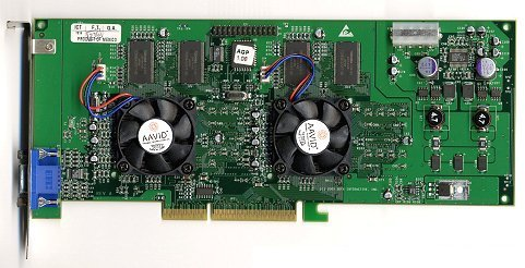The Voodoo 5. This was to be 3dfx's last graphics card. The twin-threat that was the GeForce 256 and Radeon proved to be too much for the ailing graphics card company to handle.