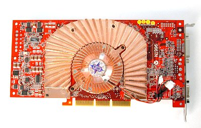 Again, the 5900 Ultra from NVIDIA wasn't exactly ground-breaking, but this card still worthy of a mention because of its radical cooling solution.