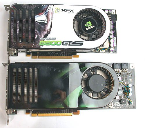 NVIDIA continues to pound ATI into submission by releasing the supremely powerful 8800 GTX. Look at how big it is!