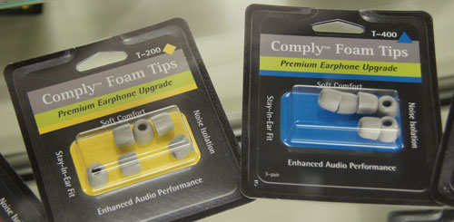 These foam tips from Comply let you enjoy all the sound isolating benefits of foam plugs in your ear without having to shell out for some expensive new earbuds; you just stick these onto your current set of in-ears. A long list of third-party manufacturers are supported too.