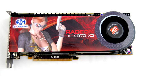 The current speed king is the dual-GPU Radeon HD 4870 X2, proving that sometimes, two heads are indeed better than one.