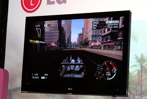 LG's LG50 Full-HD panel is the only launch model with a 200Hz advantage. We're sure its built-in iDTV tuner will give Samsung a run for their money.