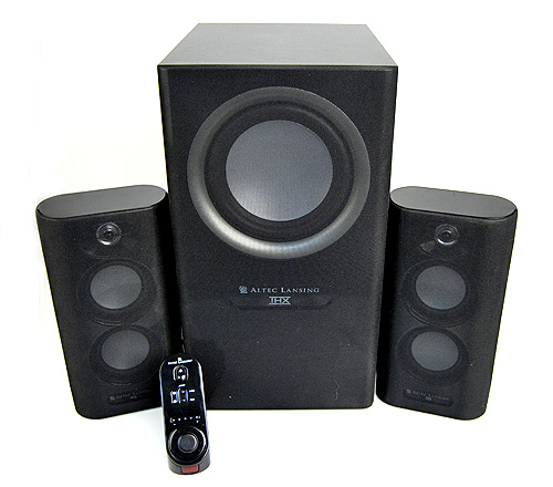 The Altec Lansing MX5021 is an unassuming set of speakers, it is neither stunning nor special.