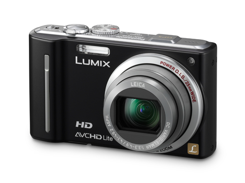 The Panasonic Lumix DMC TZ10