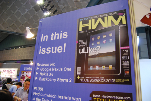 And if you haven't checked out the revamped look of HWM, do grab a copy and read all about the Apple iPad in our March issue.