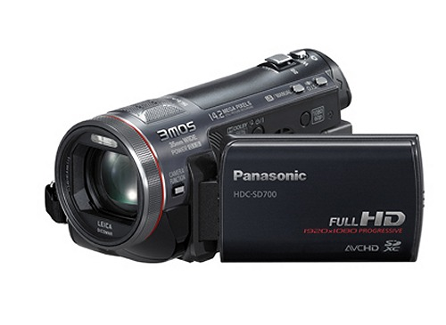 The Panasonic HDC-SD700 Camcorder