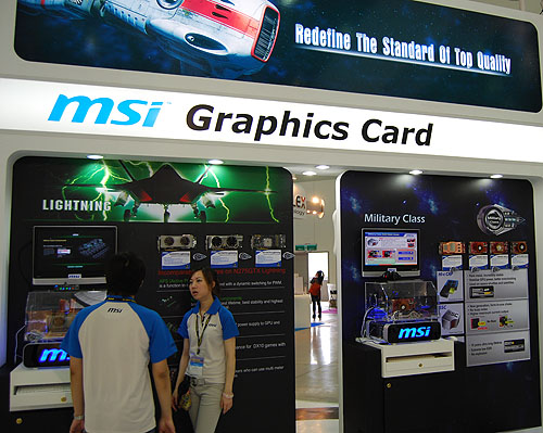 With nothing new from the graphics chipmakers, MSI was intent on improving their current offerings, with better, more reliable components and improved cooling solutions.