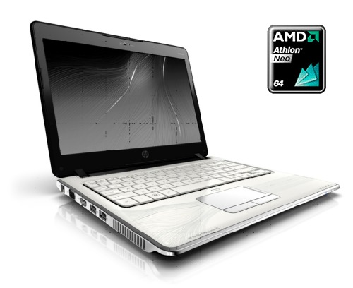 The all new HP Pavilion dv2 rides on AMD's 'new' Yukon platform that's targeted at the ultra-thin notebooks segment.