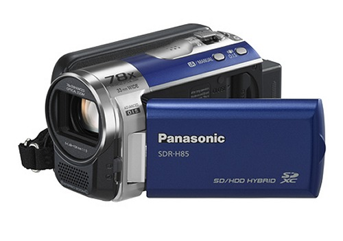 The Panasonic SDR-H85 Camcorder