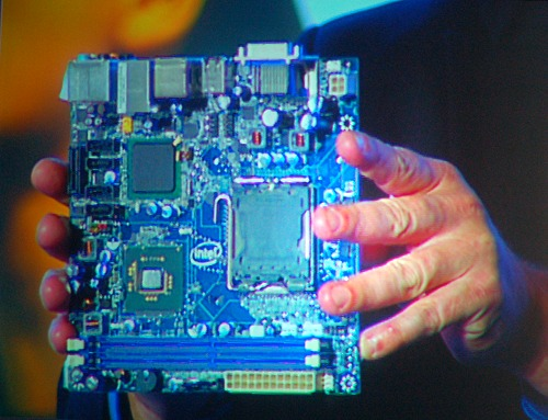 In fact, the system was using an ITX G45 motherboard.
