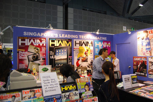 As usual, you'll find our booth on Level 6, with loads of special offers awaiting you.