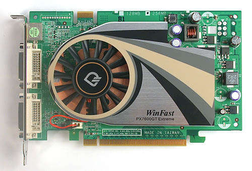 This Leadtek 7600 GT Extreme was one of favorite 7600 GT cards. Its willingness to be overclocked and its competitive was enough for us to give it the full five stars!