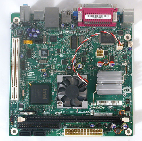 Measuring less than 7 inches for both length and width, this square mini-ITX board is one of the smaller form factors available.