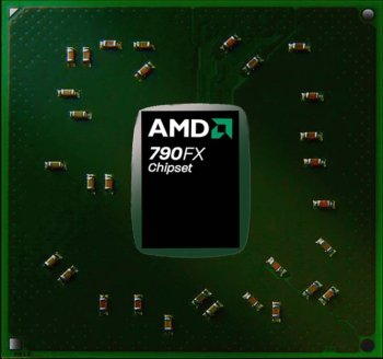 The AMD 790FX chipset.
