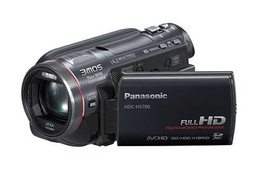 The Panasonic HDC-HS700 Camcorder
